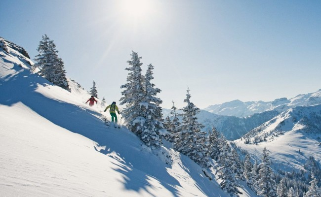 Ski holidays wit deep powder snow in Wagain at the heart of Ski amadé